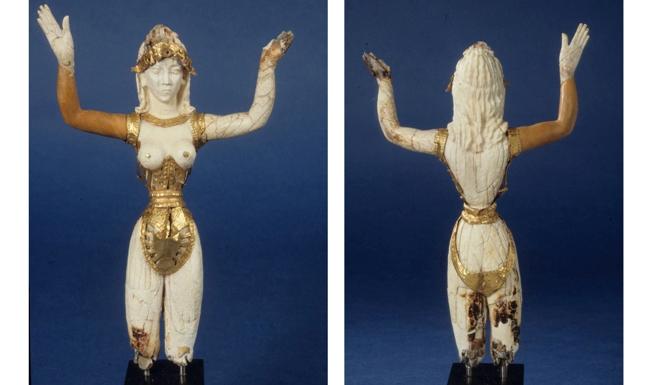 The ROM Ivory 'Minoan' Goddess, 1991