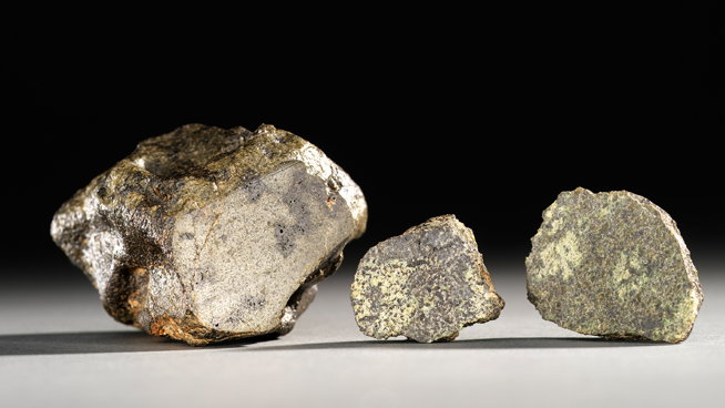 Collection of three Martian Meteorites