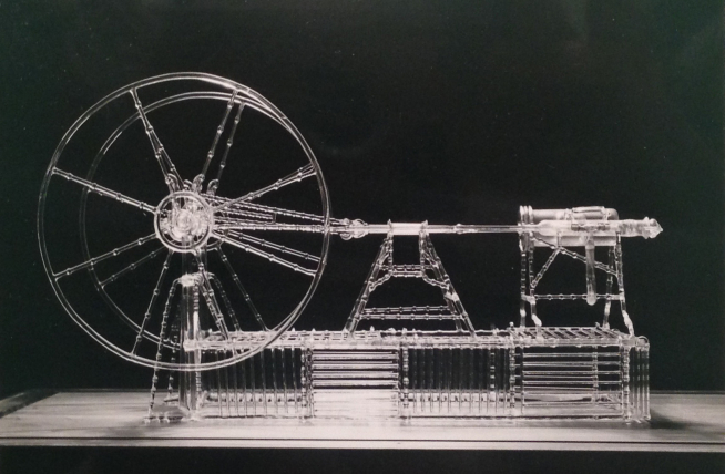 glass steam engine
