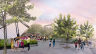 Conceptual rendering of the revitalized ROM Plaza. Courtesy of Hariri Pontarini Architects.