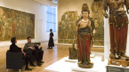 Patrons explore the ROM's Chinese collections