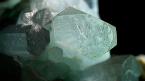 Aquamarine and Muscovite in Quartz