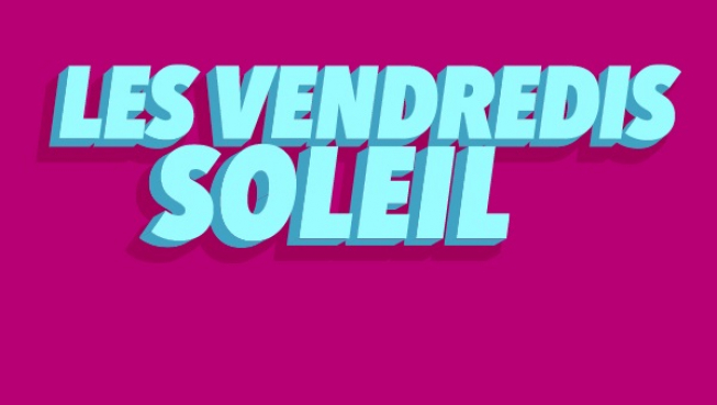Les Vendredis soleil wordmark