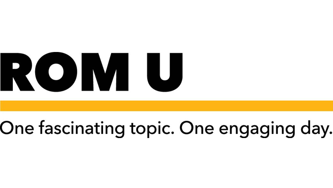 ROM U: One fascinating topic. One engaging day.