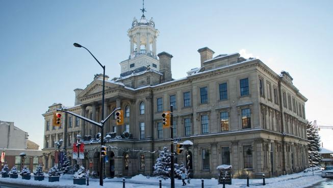 Victoria Hall, Cobourg Ontario.