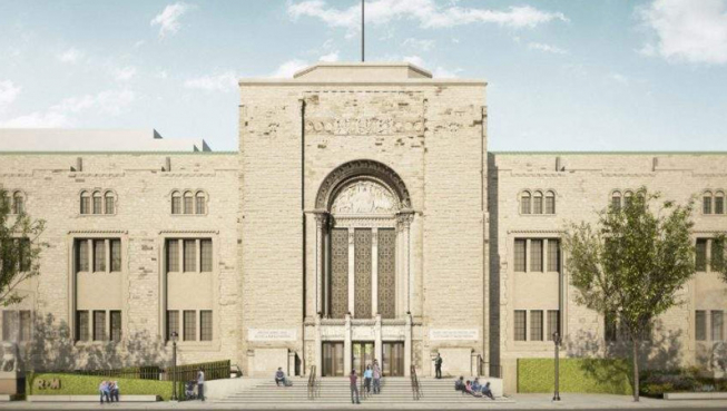 Rendering of the new Heritage Weston Queen's Park Entrance