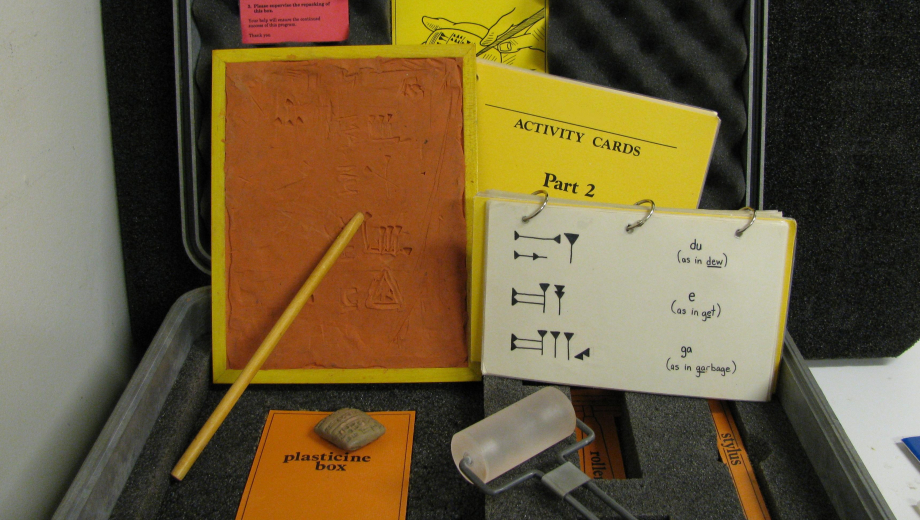 Inside the Cuneiform Writing EduKit