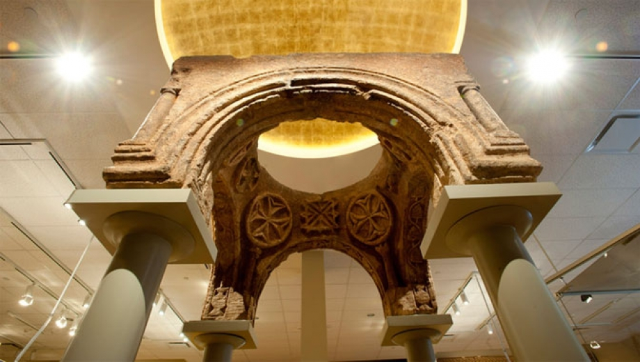 One of the ROM's most significant recent acquisitions is a rare 1st century AD ciborium (altar canopy).