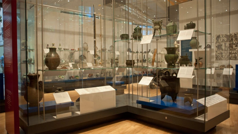 Inside the T.T. Tsui Exhibit of Prehistory and Bronze Age.