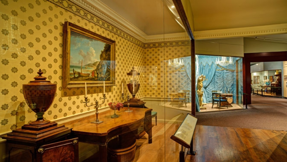 Photo of a period room