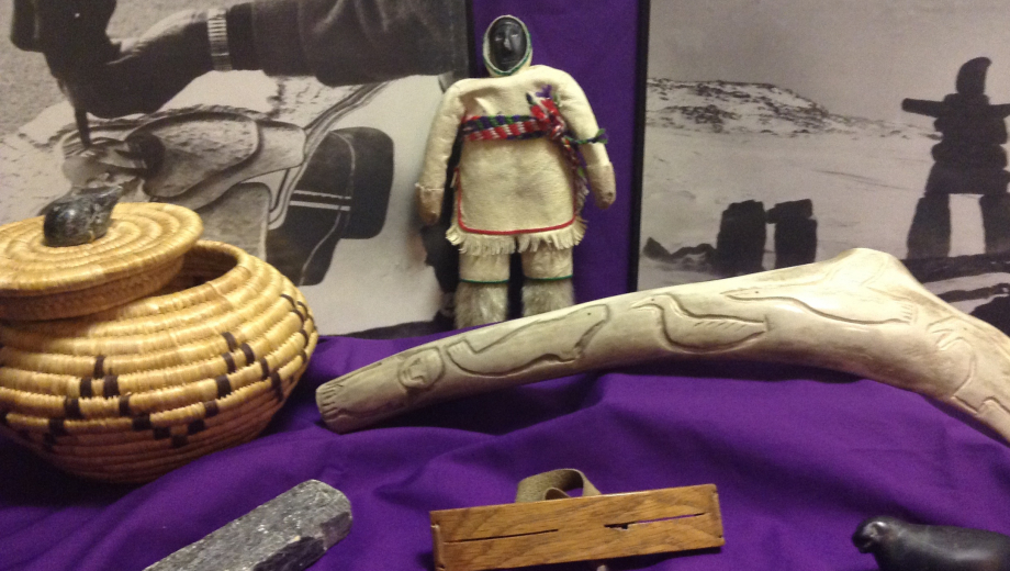 Artifacts from the Arts of the Inuit EduKit available for your class to rent!