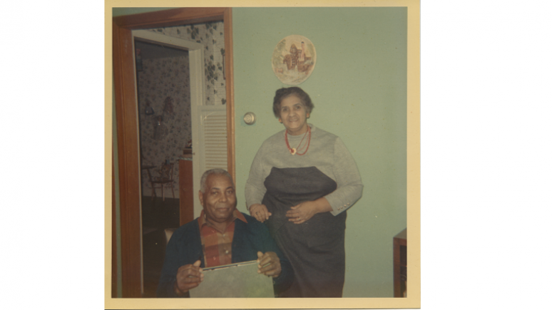 Photograph of husband and wife