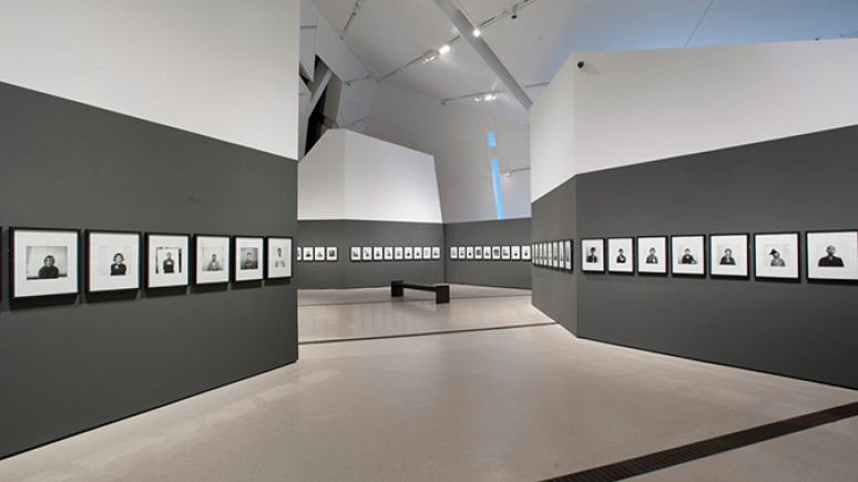Installation view of Observance and Memorial exhibit. Photo by Brian Boyle at the Royal Ontario Museum. All rights reserved.