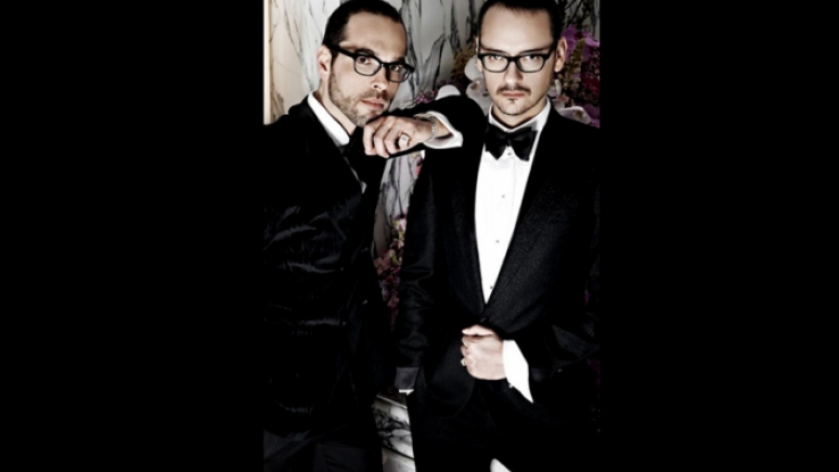 Viktor & Rolf. Photo by Peter Stigter-Hyere