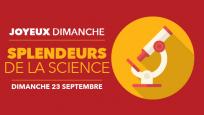 Joyeux dimanche : Splendeurs de la science