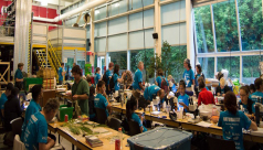 Bioblitz 2015. Ontario Science Centre Species Depot. Photo by Krystal Seedia