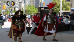 Ancient Romans come to the ROM for Family Weekend, June 15-16th