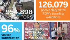 Infographic displaying statistics about the ROM in 2015