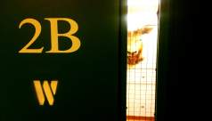 "Image of door with text ""2B"""