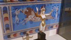 ROM 'Minoan' Goddess now on display