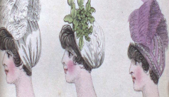 Three headdresses, 1801