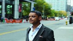 Matt Galloway, the host of Metro Morning on CBC Radio.