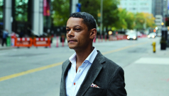 Portrait of Matt Galloway, CBC Metro Morning Host and Toronto resident.