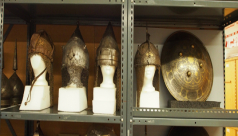 Middle Eastern helmets