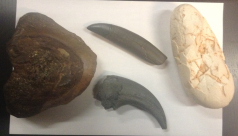 A selection of touchable objects.