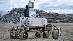 Photo of Rex Rover, a Martian rover prototype
