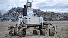 Photo of Rex Rover, a Martian rover prototype