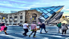 Picture of the ROM looking southwest. Photo by @priscilla_mendes
