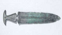 ROM #938.35, the dagger of Marduk-shapik-zeri, 43.6 cm long (ROM Photography)