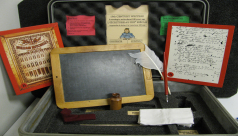 Inside the 19th Century Writing EduKit, available for schools and educational groups to rent