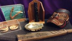 Artifacts from the Arts of Northwest Coast EduKit
