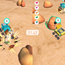 robots hunt for rocks on mars