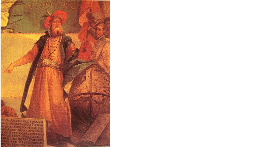 a painting of John Cabot