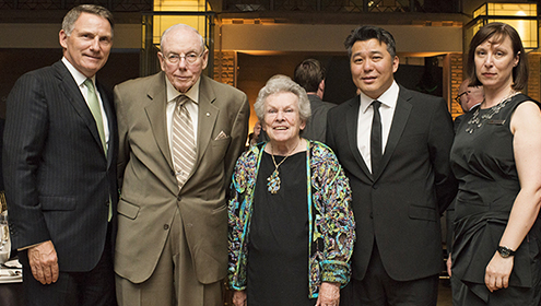 Chairs' Reception, hosted by Won J. Kim, Chairman of the ROM Board of Trustees and Robert E. Pierce, Chairman of the ROM Board of Governors.