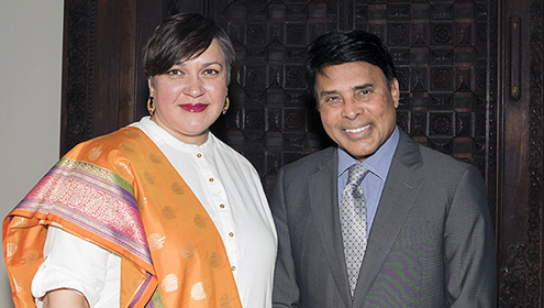 Dr. Deepali Dewan and Mr. Dan Mishra