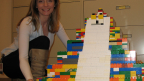 The LEGO Maya Pyramid that 5000 kids built