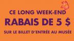 Célébrez le week-end de l'Action de grâce au Musée royal de l'Ontario et économisez!