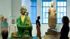 Cour de la famille Matthews des sculptures chinoises