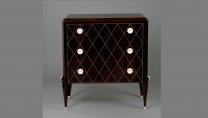 Commode, (macassar ebony, ivory), Unidentified Maker, Paris, France, 1920s - 1930s (989.315.16)