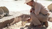Krzysztof Grzymski à Méroé, au Soudan