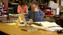Dr. Ross Fox at the Glasgow City Archives