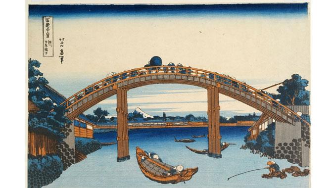 D'étonnants chefs-d'œuvre signés par de grands maîtres comme Hokusai et Hiroshige